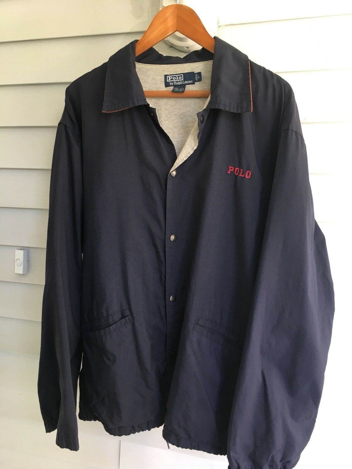 Vintage Polo Ralph Lauren Coat. Sz L. Vintage And Rare