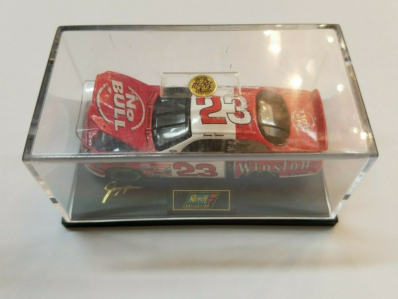 Collector Original Box 1998 Jimmy Spencer  23 Winston No Bull Nascar Diecast Car