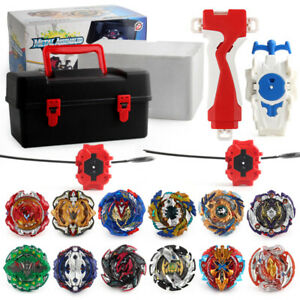 Beyblade-BURST-12-Beys-Spinning-Customize-Set-Rapidity-With-Storage-Tool-Box