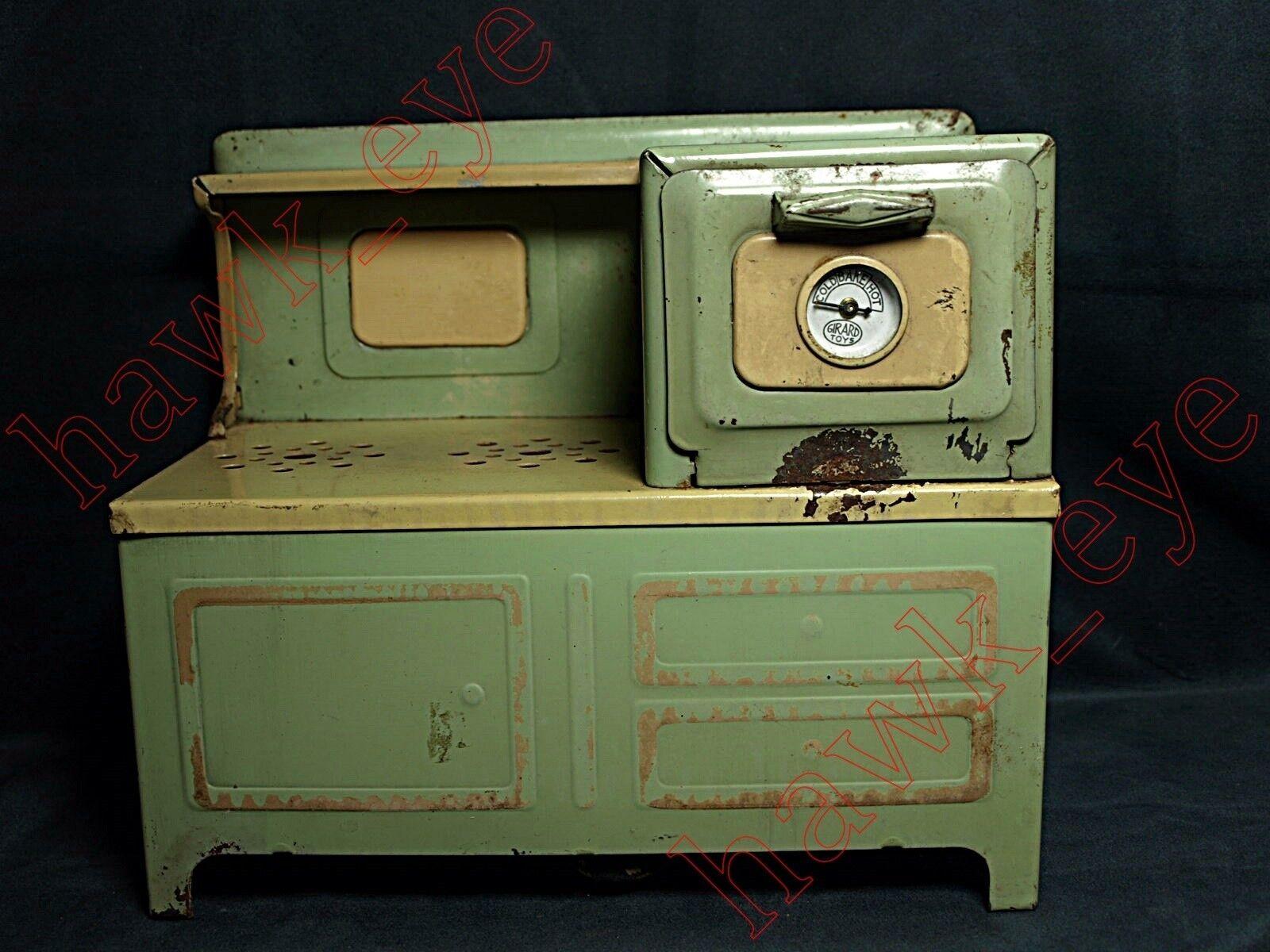 Estufa Eléctrica Vintage Niños de lujo Gama Con Original Temp calibre difícil de encontrar