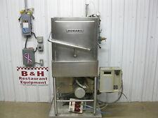 Hobart Am 14c Corner Stainless Steel Pass Through Commercial Dish Washer Machine