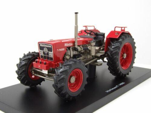 Modellauto 1:32 Schuco Hürlimann T 14000 Traktor rot