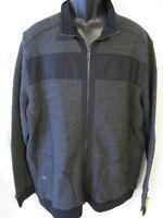 Apt. 9 Cotton Blnd Size 2xl Black Marl Modern Fit Zipper Shirt Jacket Sr$70