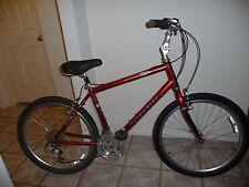 "Rare Red TREK Navigator 300 24-speed Hybrid Bicycle Size 18.5""/47 cm, 26"" Tires"