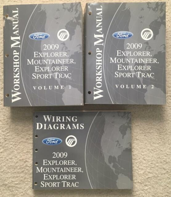 2009 Ford Explorer Mountaineer Sport Trac Workshop Manual