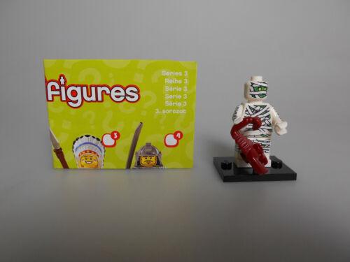 Lego® Minifiguren Sammel Serie 3  Nr.8 mit BPZ und Platte