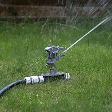 Professional Impulse Metal 3x Spike Garden Sprinkler Hozelock Compatible Sprayer