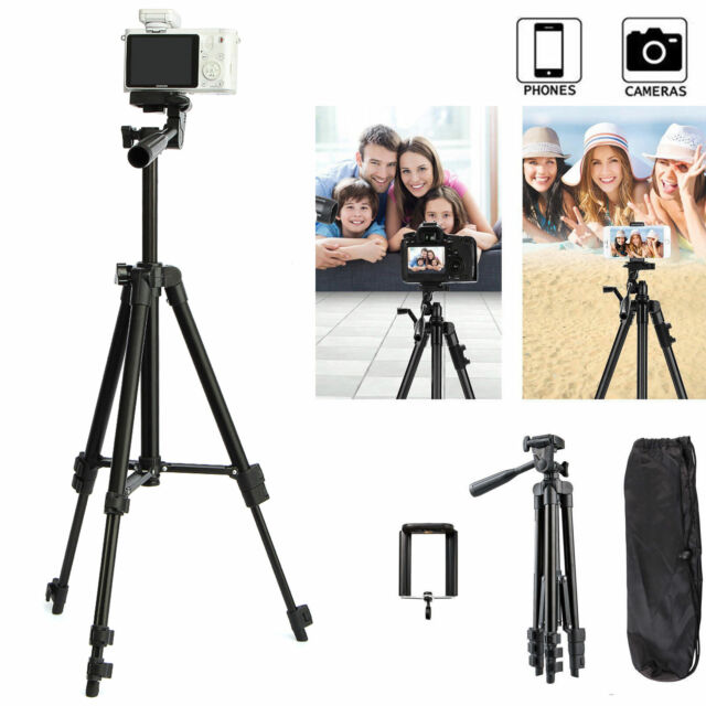 Professional Camera Tripod Stand Holder Mount for iPhone Samsung Cell Phone