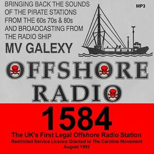 Details about Pirate Radio OFFSHORE RADIO 1584khz Legal UK Offshore Station  Listen In Your Car