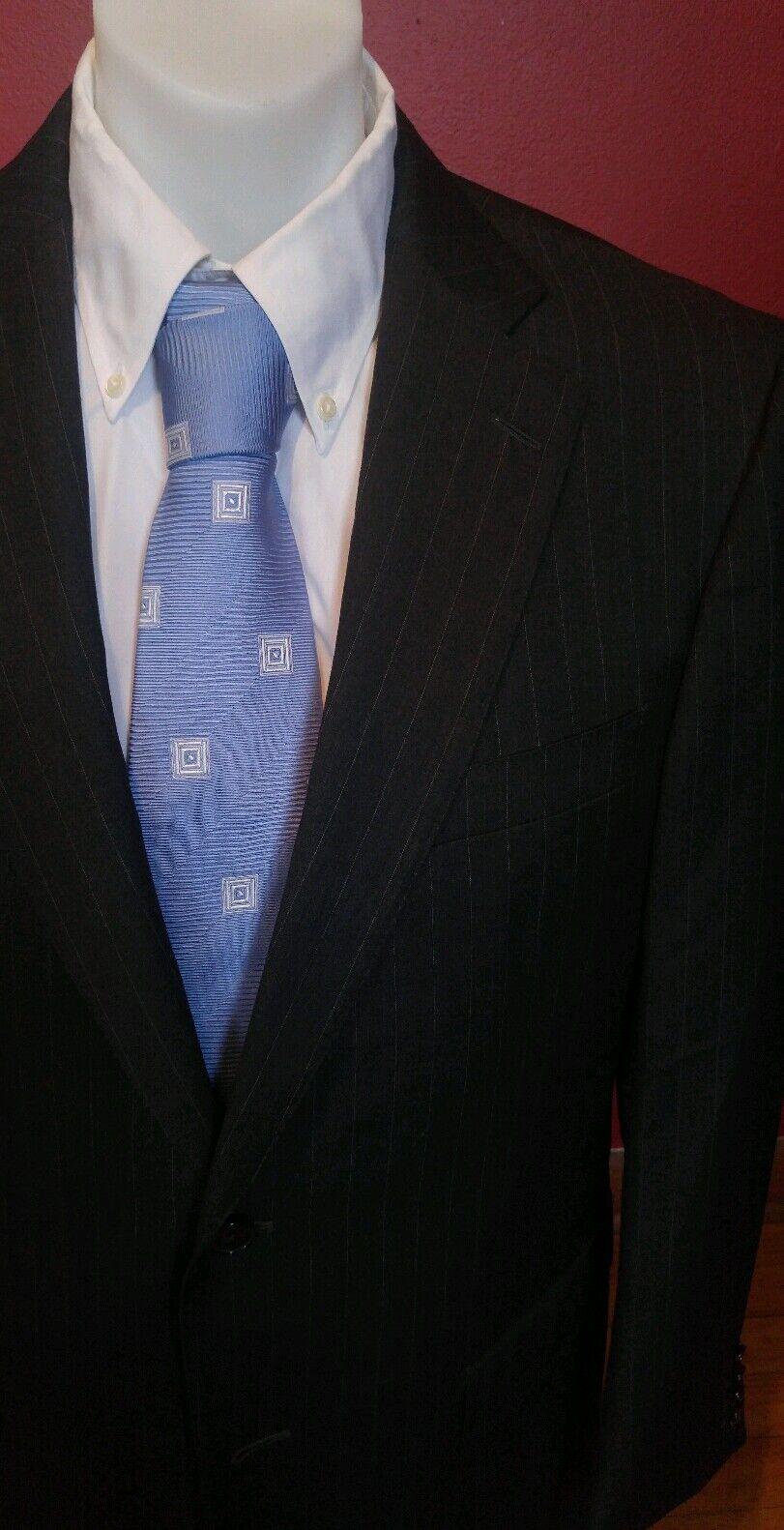 Charcoal Ermenegildo Zegna Blazer Size 40 Reg