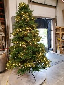 Frontgate Christmas Trees.Details About Frontgate 10 Pre Lit Douglas Fir Christmas Tree Quick Light Clear Lights