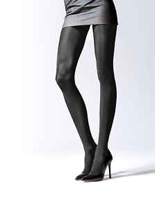 623bd924a Image is loading Black-Metalic-Gloss-Alluring-Thicker-Tights-Plus-Size-