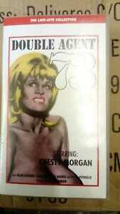 RARE-VHS-TAPE-039-DOUBLE-AGENT-73-039-CHESTY-MORGAN-PRE-CERT