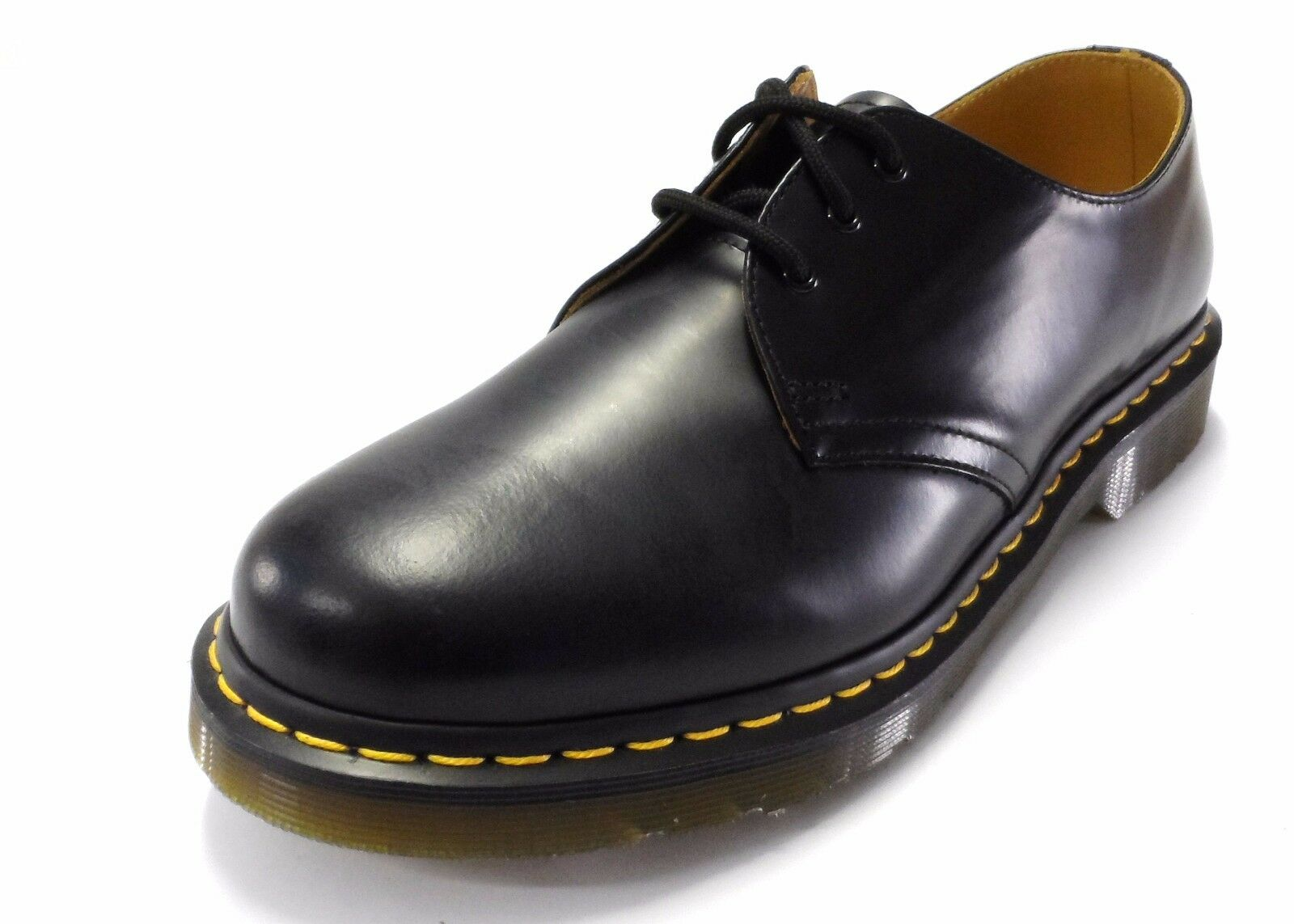 DR MARTENS 1461 Black Smooth Shoes Leather Shoes Smooth f0e2ca