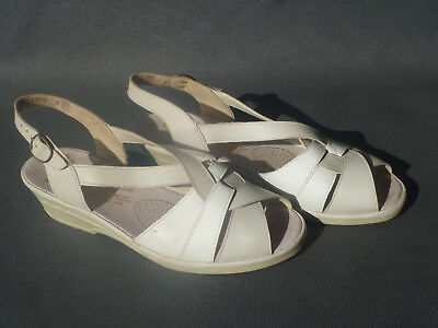 Ancienne chaussure blanche marque Rieker taille 36 old french shoes | eBay