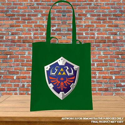 Printed Tote Bag Legend of Zelda Hyrule Shield Inspired