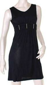 Black-Cocktail-Dress-10-12-EVERSUN-Races-Formal-Evening-Party-Mini-Sleeveless