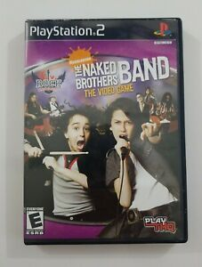 The Naked Brothers Band Video Game PS2 Game 2006 THQ Playstation 2