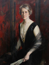 JAMES PETER QUINN 1869-1951 AUSTRALIAN ART FEMALE  PORTRAIT OIL PAINTING  PARISx