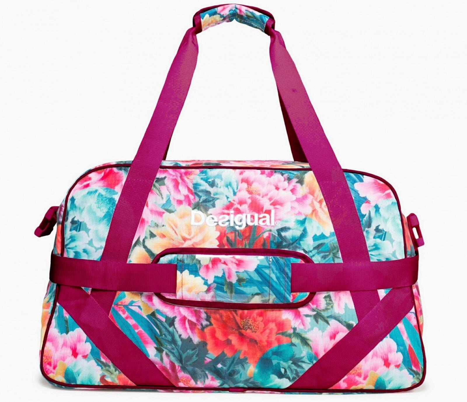 Desigual Tropic Carry Carry Tropic Shoulder Bag Sporttasche Umhängetasche Schultertasche 3bf24b