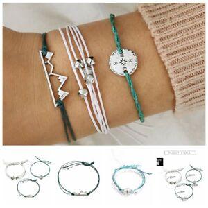 3Pcs-Set-Multilayer-Bracelet-Braided-Rope-Circle-Women-Chain-Boho-Jewelry
