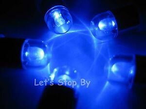 24 LED BLUE Waterproof Submersible Balloon Paper Lantern Wedding Floral Light