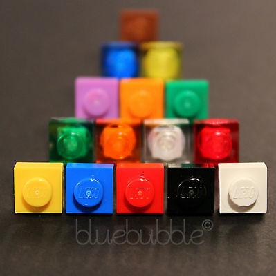 FUNKY LEGO BOYS MENS SINGLE  EARRING FUN COOL COLOURS SQUARE PLATE BRICK 1x1 EMO