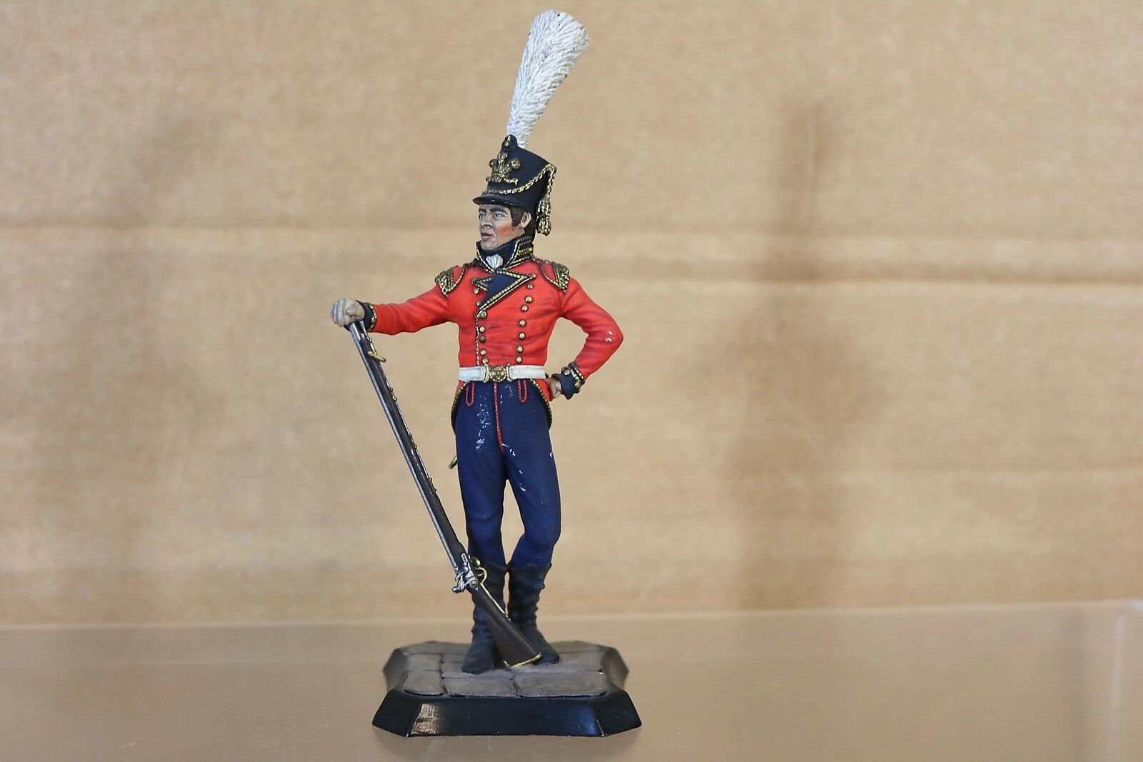 Stadden Traditioneller 90mm Napoleonisch Britisch Prinz von Wales Regt Waterloo