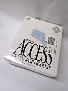 Vintage-Microsoft-Access-Developer-039-s-Toolkit-Version-2-0-Sealed-New-Old-Stock