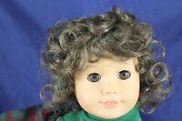 Business Sale---sweetie Wig 10-11,lt Chesnut Brn Modeled On American Girl Doll