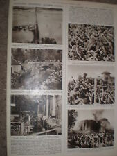 Photo article attempted assassination of Nasser Alexandria Egypt 1954
