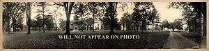 "1913 Hamilton College Clinton New York Vintage Panoramic Photograph 28"" Long"