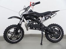 RV-Racing Pocketbike Dirtbike Pocket Cross Bike Kindermotorrad Crossbike Schwarz