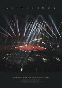 Details about New SUPER JUNIOR WORLD TOUR SUPER SHOW7 IN JAPAN DVD  AVBK-79560 4988064795604