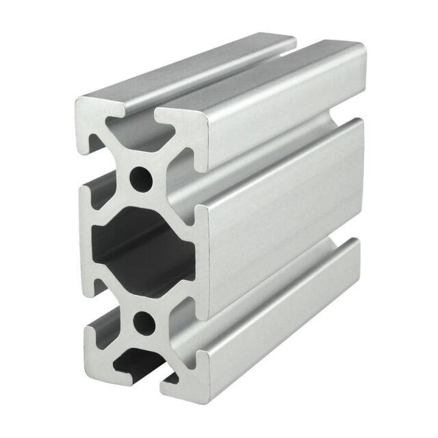 80//20 Inc T-Slot 80mm x 20mm Aluminum Extrusion 40 Series 40-8020 x 1525mm N