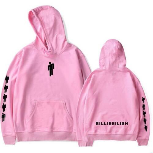 Damen Herren Billie Eilish Hoodie Pullover Sweatshirt Gym Sport Kapuzenpullover