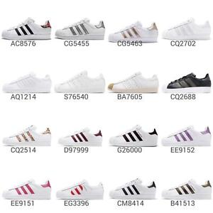 pretty nice 184a0 0b77a Image is loading adidas-Originals-Superstar-W-Low-Women-J-Junior-