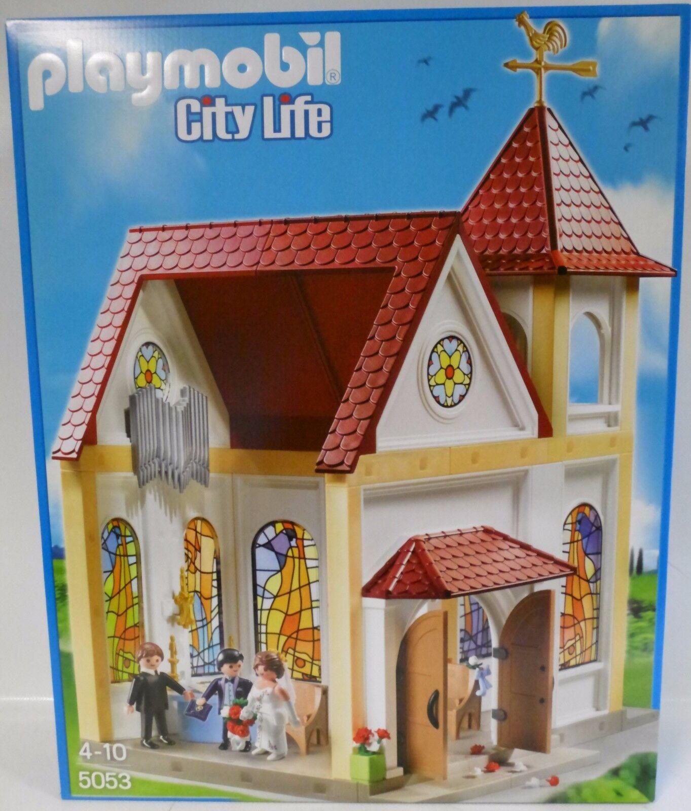 NEU PLAYMOBIL® 5053 Romantische Hochzeitskirche Kirche Kapelle OVP