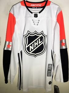 best sneakers 59b08 eb548 Details about adidas Authentic NHL Jersey All-Star West Team White sz 50