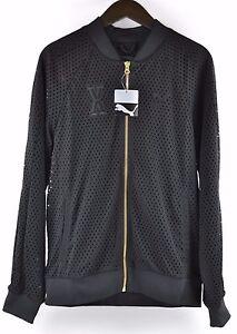 876c8d863df4 Mens Puma Vashtie T7 Track Jacket Long Sleeve Black Gold Zipper Mesh ...