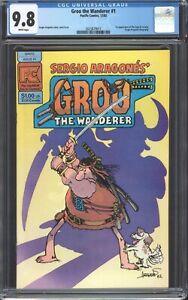 GROO-THE-WANDERER-Pacific-Comics-1-CGC-9-8-Sergio-Aragones-1982