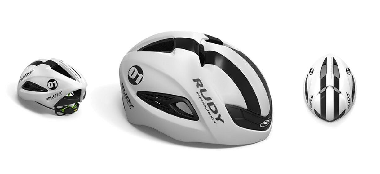 Casco Bici RUDY PROJECT BOOST 01 blanco Graphite Matte HELMET RUDY PROJECT BOOST