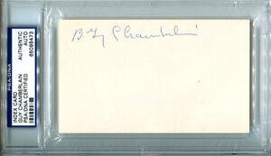 Berlin-Guy-Chamberlin-Signed-Index-Card-3x5-Auto-HOF-Canton-Nebraska-PSA-DNA