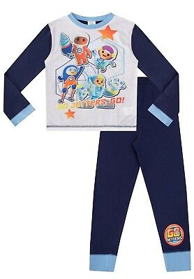 Garçons Pyjama Go jetters Pjs Foz Kyan Lars Super Hero Team