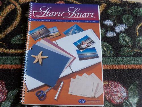 Creative Memories Start Smart Beginner Book Album Ideas//Techniques New