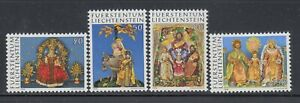 Liechtenstein-1976-Sc-610-613-Religious-Art-complete-mint-never-hinged