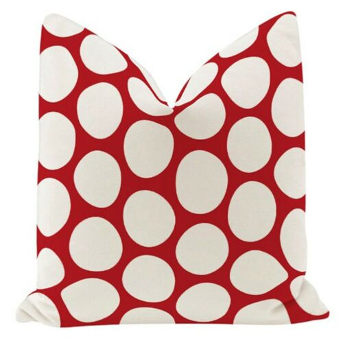 """18/"""" Cotton Linen Animal Cushion Cover Waist Throw Pillow Case Home Sofa Decor"""