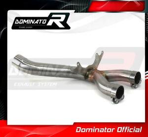 DE-CAT Cat Eliminator Exhaust Middle Pipe For BMW S1000RR 2012-2014