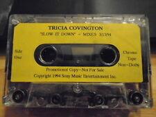RARE PROMO Tricia Covington CASSETTE TAPE Slow It Down BOYZ II MEN Marc Nelson !