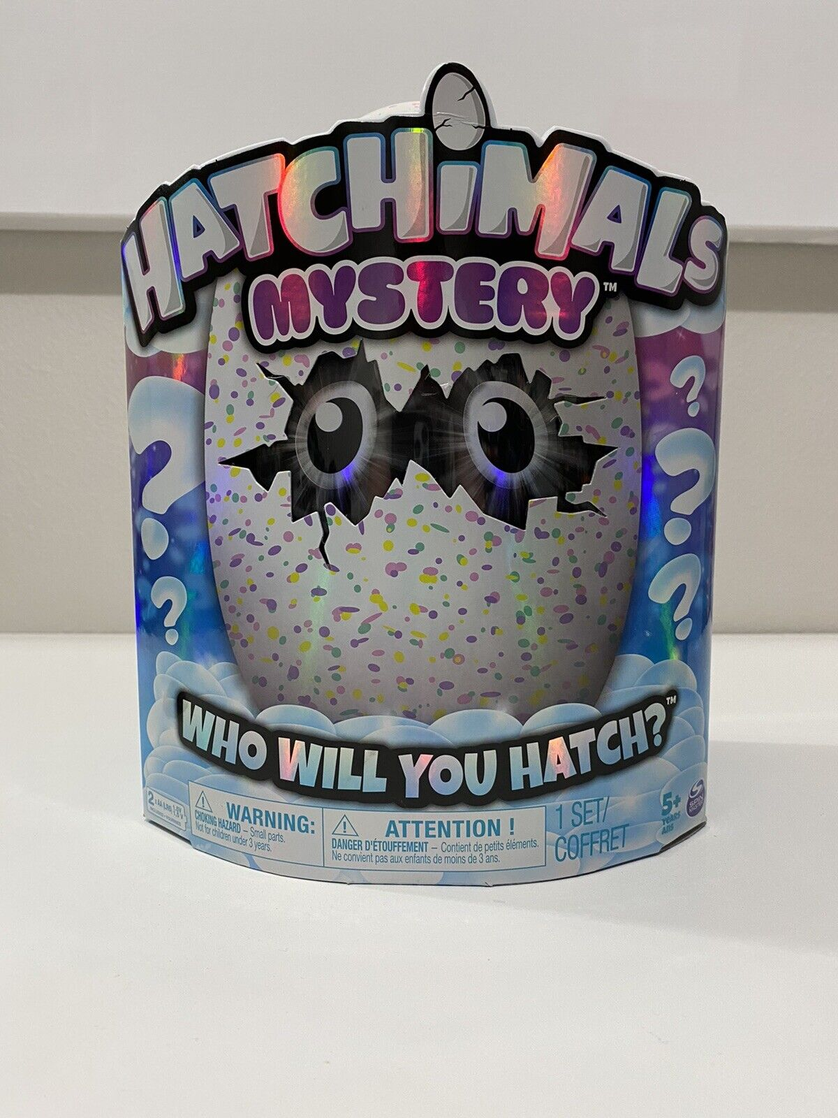 Hatch 1 of 4 Fluffy Interactive Mystery Characters Hatchimals Mystery